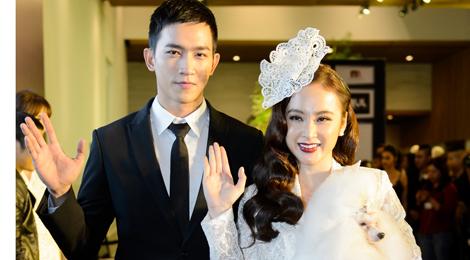 Phương Trinh được bạn trai Võ Cảnh tháp tùng xem thời trang