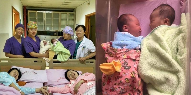 Ngạc nhiên với câu chuyện mang thai đầy hi hữu của chị em sinh đôi