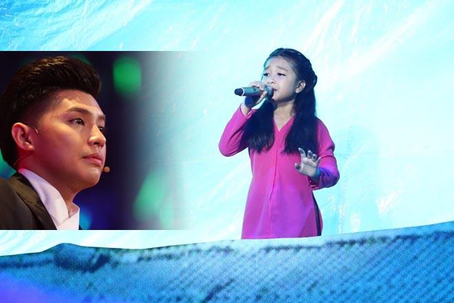 Noo Phước Thịnh nước mắt lưng tròng khi nghe trò cưng hát