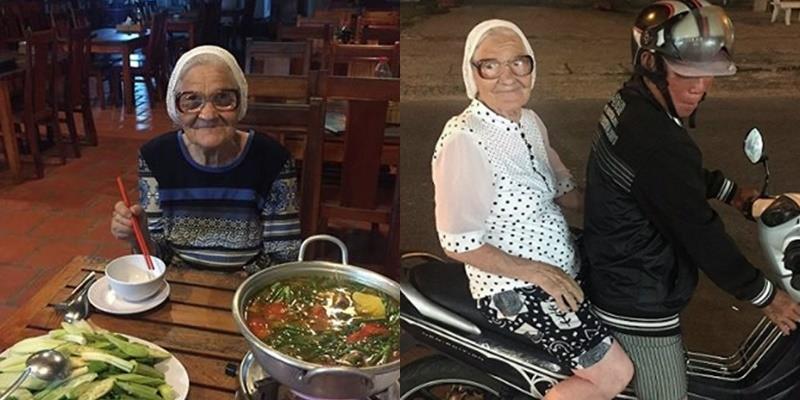 """Nữ """"phượt thủ"""" 89 tuổi một mình khám phá Việt Nam bằng tiền lương hưu"""