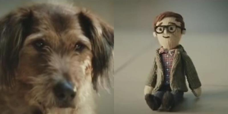 Bật khóc khi biết lý do chú chó dành trọn cuộc đời bên hình nộm