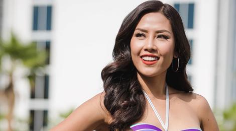 Nguyễn Loan tự tin ở bán kết Hoa hậu Hòa bình Quốc tế