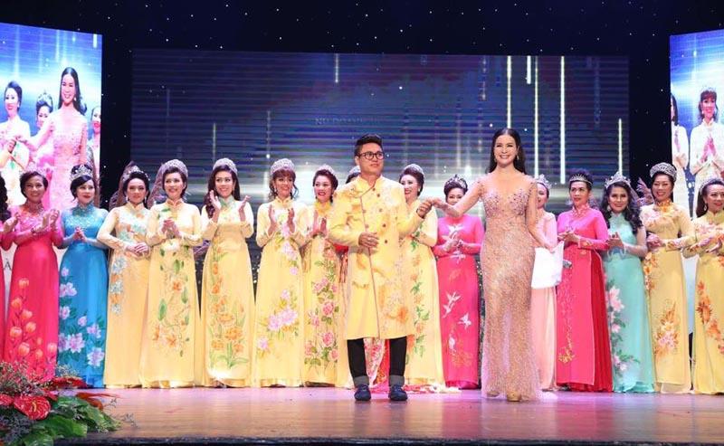 Áo dài Tommy Nguyễn tôn vinh các Nữ doanh nhân Việt Nam