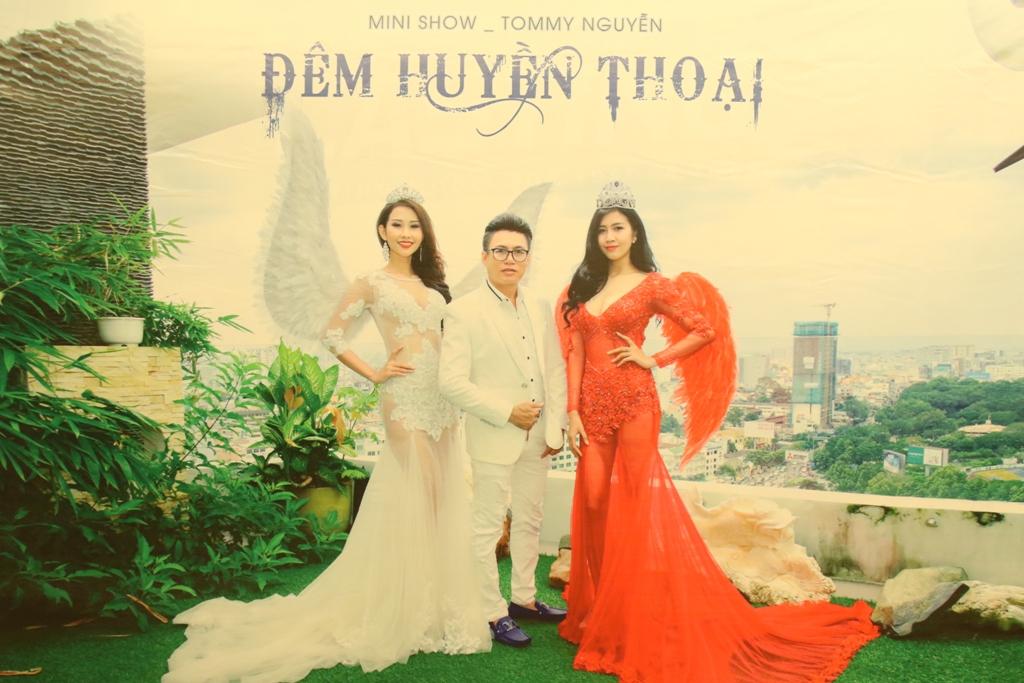 """Người đẹp háo hức với minishow """"Đêm Huyền Thoại"""" của NTK Tommy Nguyễn"""