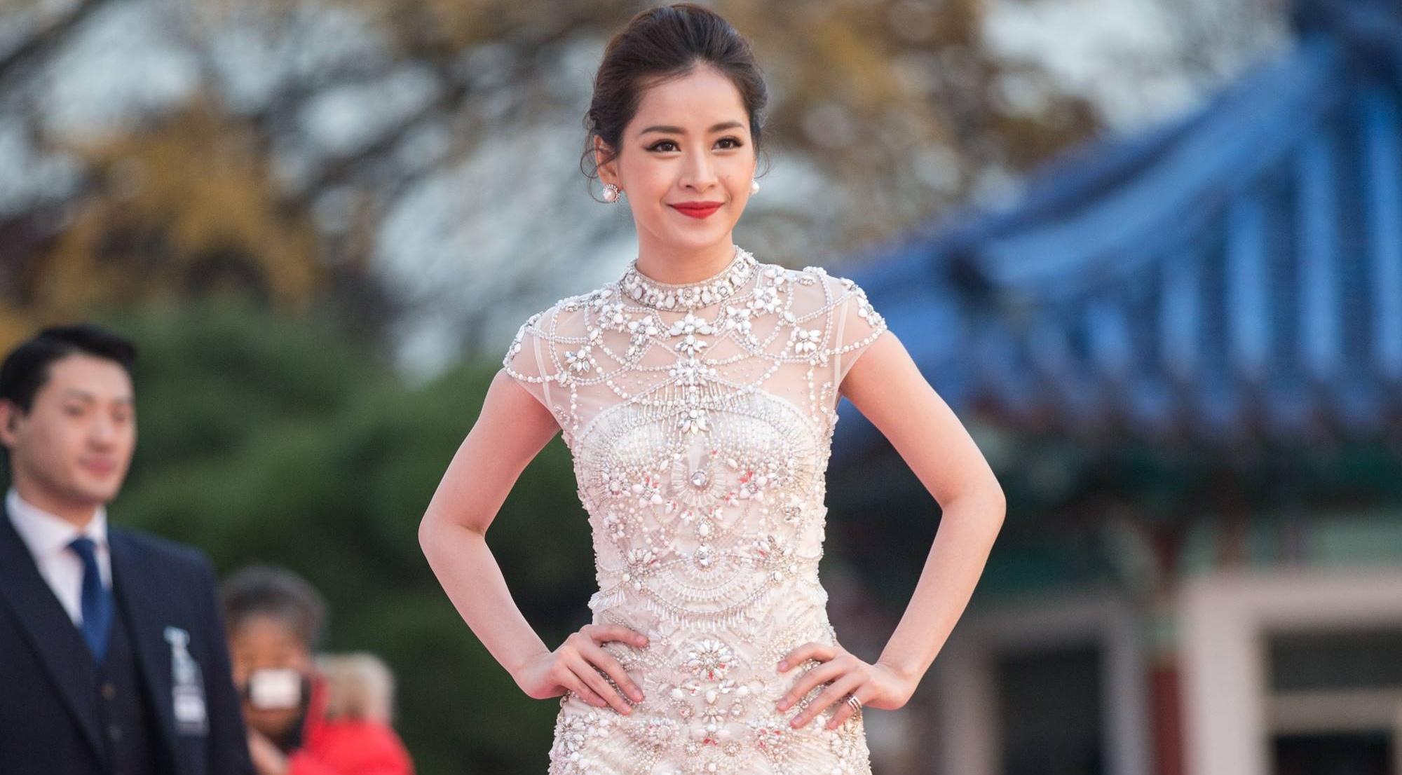 Chi Pu nổi bật giữa dàn sao hạng A Hàn Quốc trên thảm đỏ