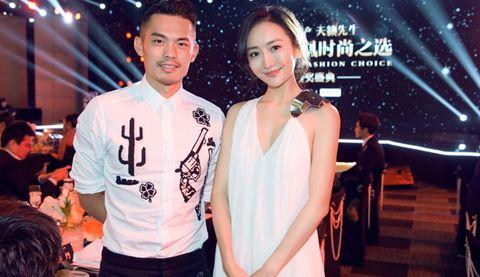 Ảnh Lin Dan thân mật với người tình Lưu Khải Uy bị chế nhạo