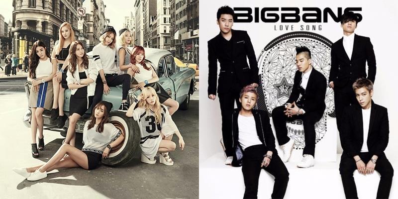 Những nhóm nhạc thành công nhất lịch sử Kpop đã đi vào huyền thoại
