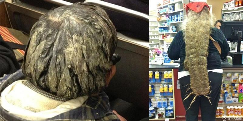 """""""Hoảng hốt"""" với những mái tóc 10 năm chưa hề cắt gội"""