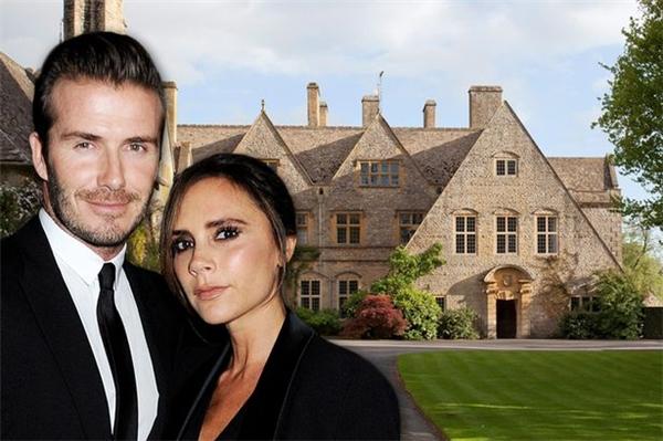 Khám phá căn biệt thự 27 triệu bảng của vợ chồng Beckham