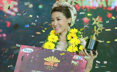 Vĩnh Thuyên Kim đăng quang Người nghệ sĩ đa tài 2016