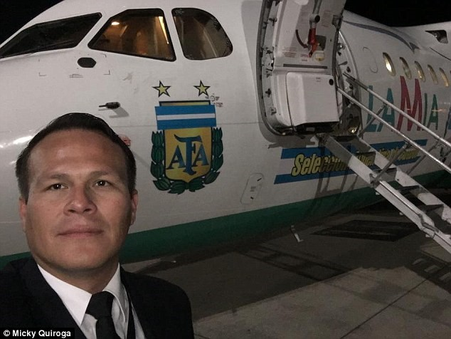 Lời cuối của máy bay chở tuyển Brazil gặp nạn: Hết xăng