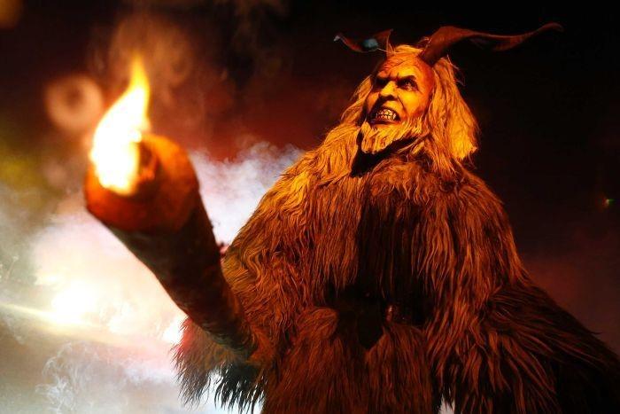 Phiên bản quỷ dữ của ông già Noel trong văn hóa Áo