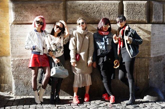 Ngẫu hứng ở Roma của fashionista Việt