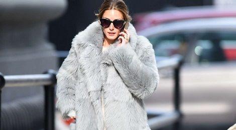 Sao ngoại chuộng áo khoác lông ngày lạnh