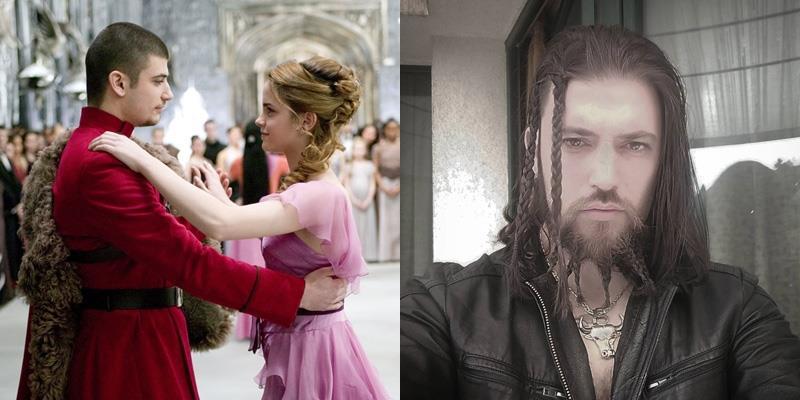 Không thể nhận ra chàng Viktor Krum từng khiến Hermione cho Ron ra rìa