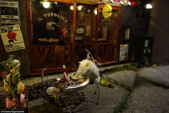 Nhà hàng tí hon dành cho chuột