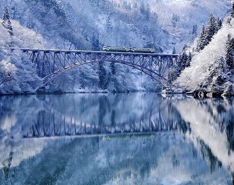Những điểm đến phủ tuyết đẹp như cổ tích vào mùa đông