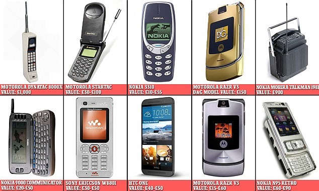 """Điện thoại """"đồng nát"""" đắt gấp nhiều lần iPhone 7 trên eBay"""