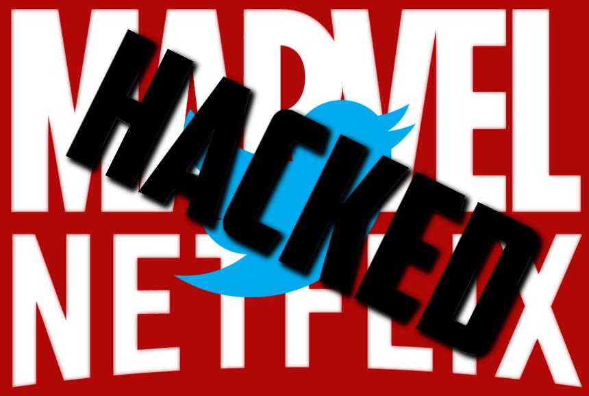 Tài khoản Twitter của loạt sao siêu anh hùng bị tấn công
