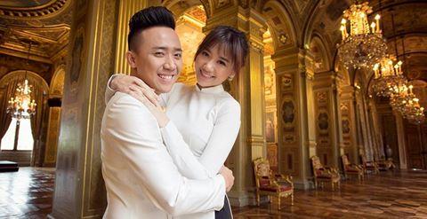 Bộ ảnh cưới lãng mạn của Trấn Thành và Hari Won ở Pháp