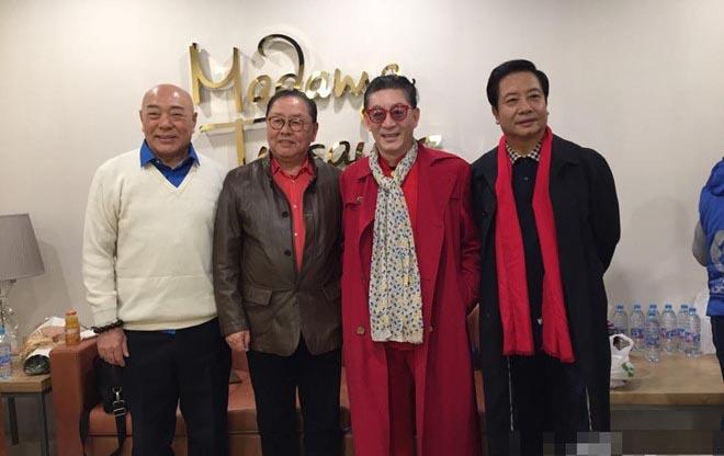 """4 thầy trò Đường Tăng """"Tây du ký 1986"""" đóng phim """"Tham tiền"""""""