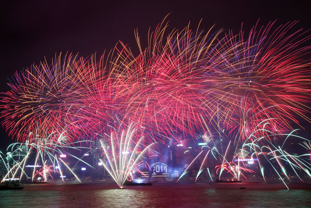 Sydney kỳ vĩ dưới pháo hoa năm mới