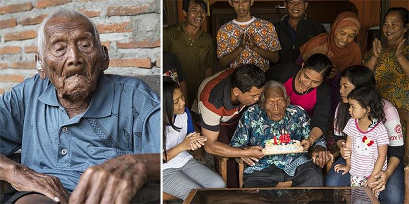 Cụ ông già nhất thế giới vừa tổ chức sinh nhật lần thứ 146