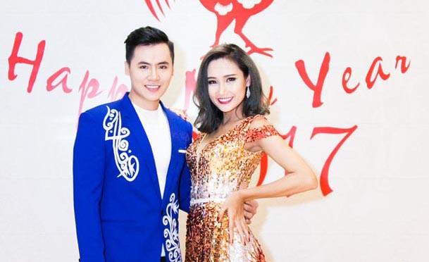 Người đẹp Huỳnh Thi rạng ngời sánh vai Hồ Văn Phúc trong sự kiện