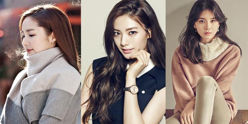 """Top những sao Hàn được bình chọn đẹp nhất dù đã qua """"dao kéo"""""""