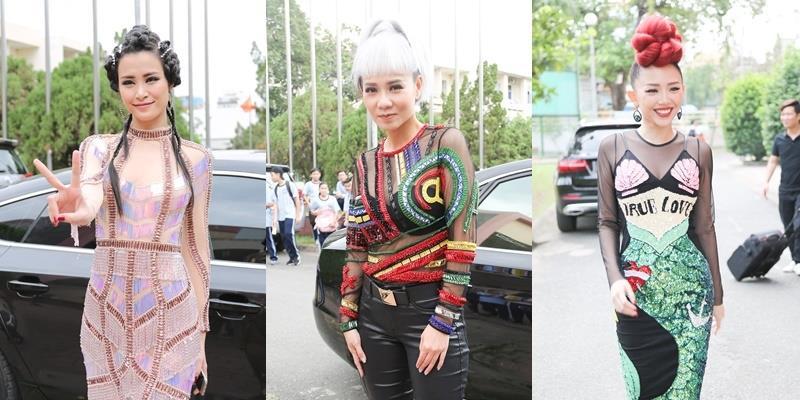 """Bóc mác trang phục làm """"dậy sóng"""" của Thu Minh, Tóc Tiên, Đông Nhi"""