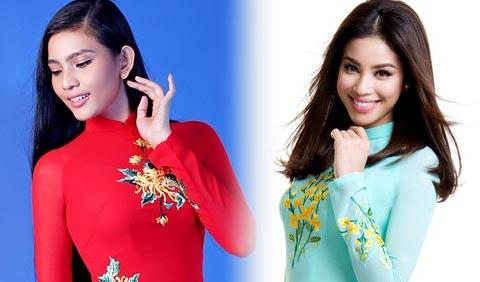 12 người đẹp Việt chụp ảnh áo dài xuân duyên dáng