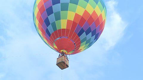 Trải nghiệm đi khinh khí cầu cao 40 m tại Sài Gòn