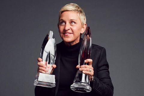 MC Ellen DeGeneres làm nên lịch sử tại giải People's Choice