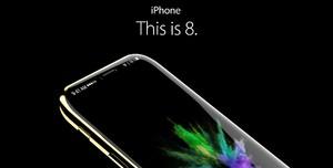 Thiết kế iPhone 8 với Apple Pencil, cảm biến mống mắt