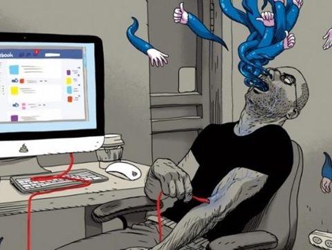 Bộ tranh phản ánh mảng tối trong xã hội hiện đại