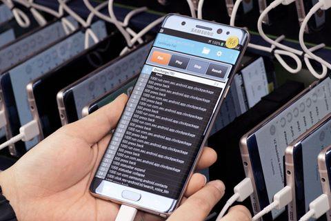 Samsung công bố 2 lỗi khiến Galaxy Note 7 phát nổ