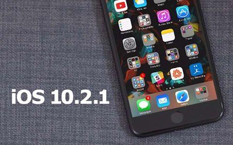 iOS 10.2.1 ra mắt