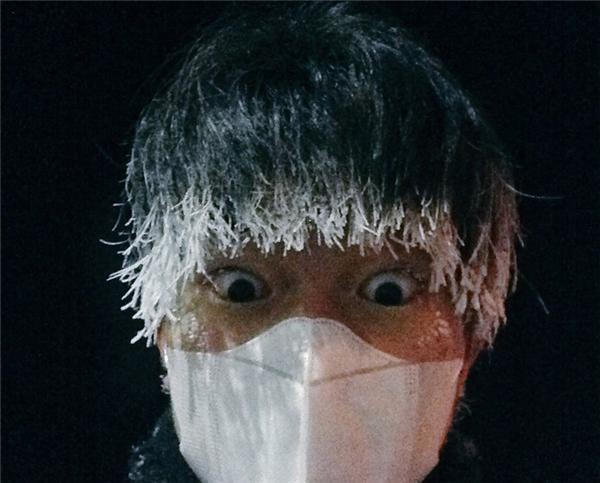 Những hình ảnh về cái lạnh kinh hoàng của nước Nhật