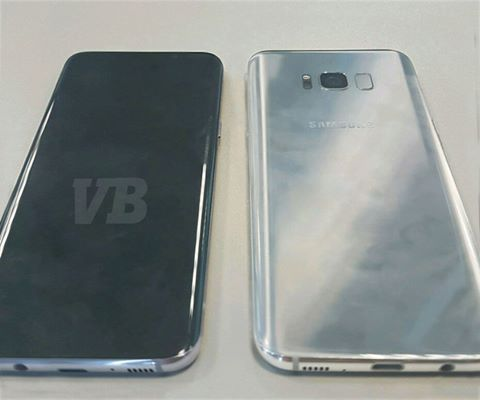 Xuất hiện ảnh thực tế của Galaxy S8