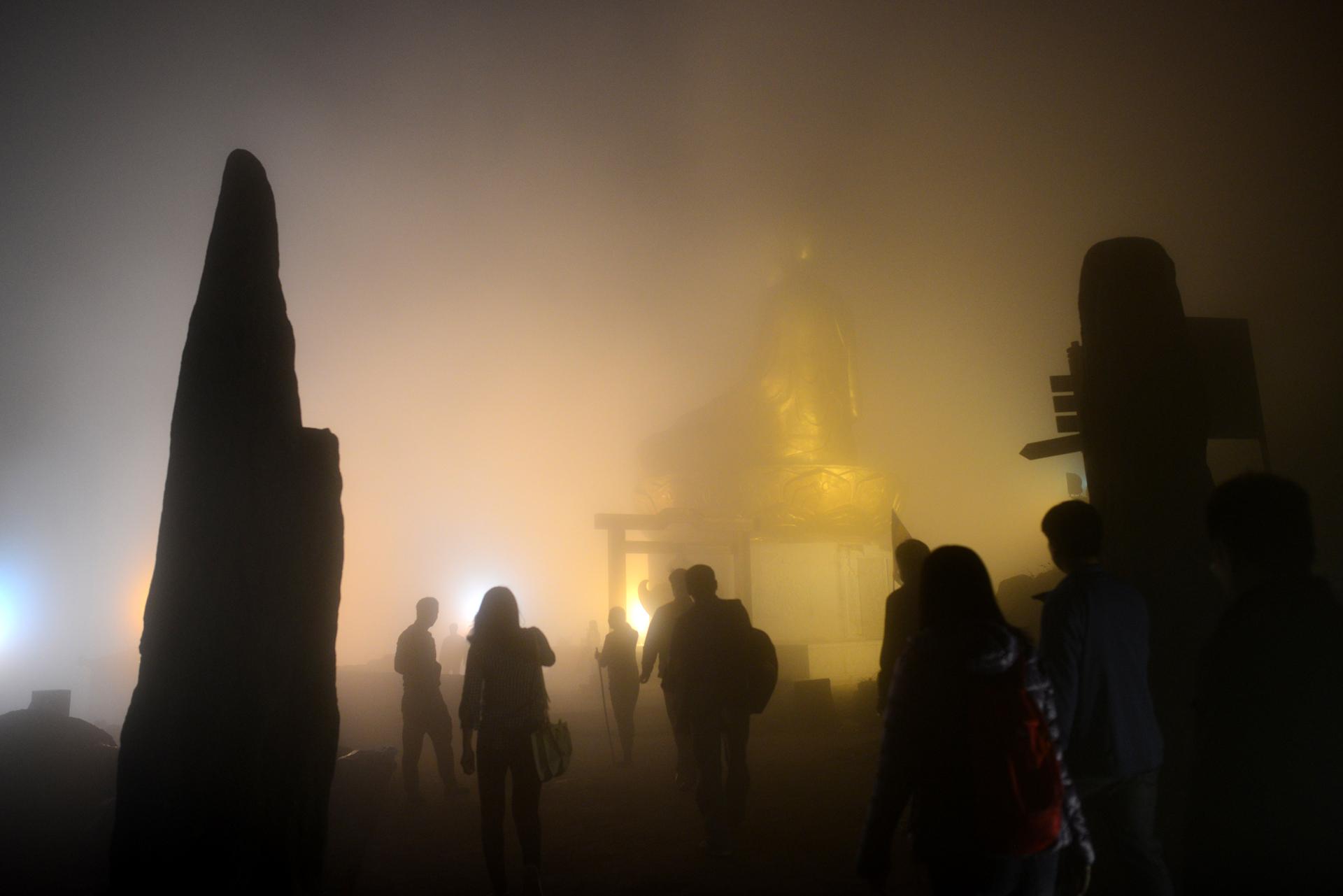 Vẻ hùng vĩ của đất Phật Yên Tử ngày khai hội