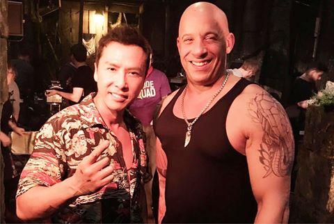 """Chân Tử Đan: """"Vin Diesel khó mà đánh thắng tôi"""""""