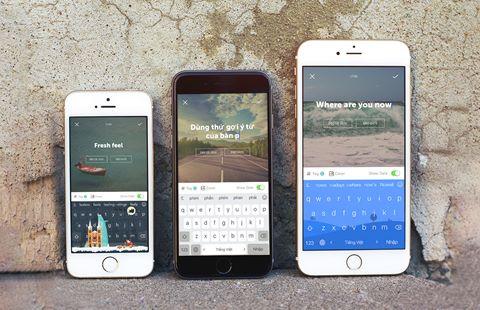 """""""Độ"""" bàn phím smartphone phong cách với Laban Key"""