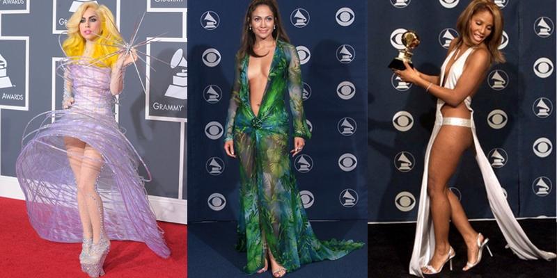 Nhìn lại những khoảnh khắc thời trang khó đỡ trên thảm đỏ Grammy