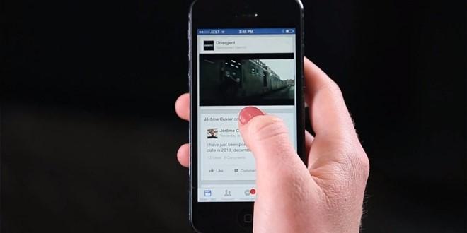 Facebook bắt đầu tự động bật âm thanh kèm video trên di động