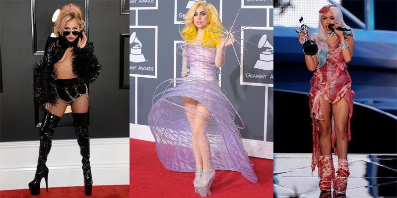 """Những bộ cánh """"thập phần bá đạo"""" của Lady Gaga"""