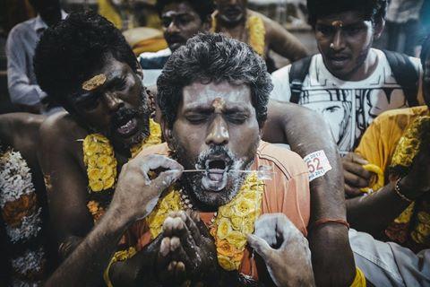 Lễ hội vinh danh vị thần quyền lực của đạo Hindu
