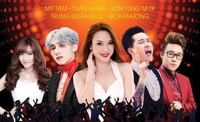 Mỹ Tâm sẽ đứng chung sân khấu với Sơn Tùng tại Hà Nội