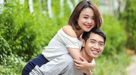 """Thái Trinh: """"Tôi chủ động tỏ tình với Quang Đăng"""""""