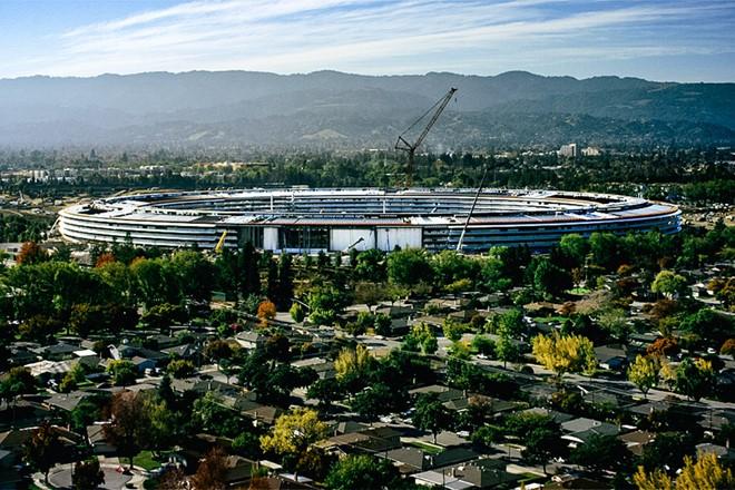 Trụ sở phi thuyền của Apple mở cửa từ tháng 4