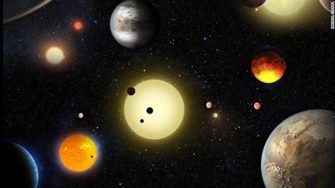 Vũ trụ ẩn chứa các hành tinh có thể có sự sống như Trái Đất